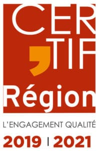 Label Qualité CERTIF'REGION 2019-2021